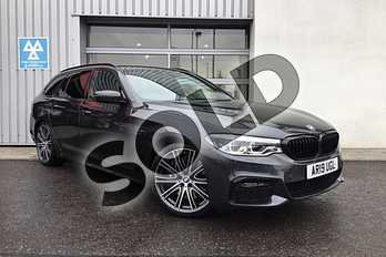 BMW 5 Series Touring 540i xDrive M Sport 5dr Auto in Sophisto Grey Xirallic at Listers King's Lynn (BMW)