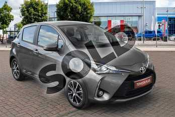 Toyota Yaris 1.5 VVT-i Icon Tech 5dr in Platinum Bronze at Listers Toyota Cheltenham