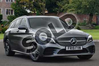 Mercedes-Benz C Class C200 AMG Line Premium 5dr 9G-Tronic in selenite grey metallic at Mercedes-Benz of Lincoln