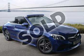 Mercedes-Benz C Class Diesel C220d AMG Line Premium 2dr 9G-Tronic in brilliant blue metallic at Mercedes-Benz of Hull