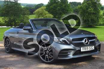 Mercedes-Benz C Class C200 AMG Line Premium 2dr 9G-Tronic in selenite grey metallic at Mercedes-Benz of Grimsby