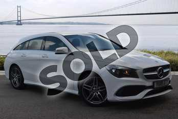 Mercedes-Benz CLA Class Shooting Brake CLA 200 AMG Line Edition 5dr Tip Auto in Polar White at Mercedes-Benz of Hull