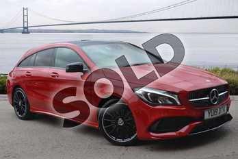 Mercedes-Benz CLA Class Shooting Brake CLA 220 AMG Line Night Ed Plus 4Matic 5dr Tip Auto in Jupiter Red at Mercedes-Benz of Hull