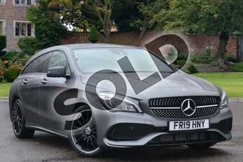 Mercedes-Benz CLA Class Diesel Shooting Brake CLA 220d AMG Line Night Ed Pls 4Matic 5dr Tip Auto in mountain grey metallic at Mercedes-Benz of Lincoln