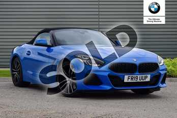 BMW Z4 Roadster sDrive 30i M Sport 2dr  Auto in Misano Blue metallic at Listers Boston (BMW)