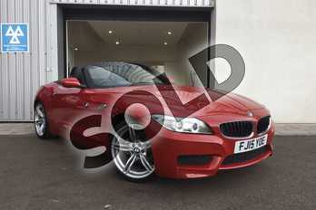 BMW Z4 Roadster 18i sDrive M Sport 2dr in Melbourne Red metallic at Listers King's Lynn (BMW)