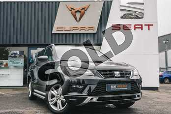SEAT Ateca 1.5 TSI EVO FR (EZ) 5dr DSG in Black at Listers SEAT Coventry