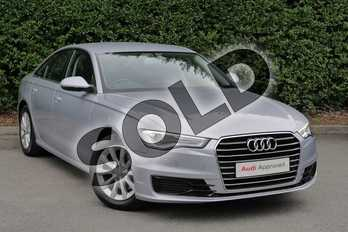 Audi A6 Diesel 2.0 TDI Ultra SE 4dr S Tronic in Floret Silver, metallic at Worcester Audi