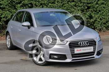 Audi A1 1.0 TFSI Sport 5dr in Floret Silver, metallic at Worcester Audi