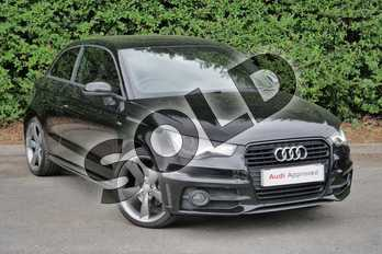 Audi A1 Special Editions 1.4 TFSI 140 Black Edition 3dr in Mythos Black, metallic at Worcester Audi