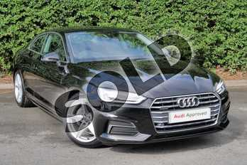 Audi A5 40 TDI Quattro Sport 2dr S Tronic in Brilliant Black at Worcester Audi