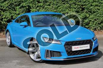 Audi TT 45 TFSI S Line 2dr S Tronic in Turbo Blue at Worcester Audi