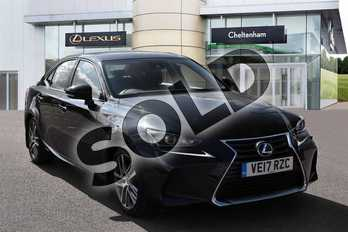 Lexus IS 300h Executive Edition 4dr CVT Auto in Graphite Black at Lexus Cheltenham