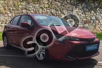 Toyota Corolla 1.8 VVT-i Hybrid Icon Tech 5dr CVT in Red at Listers Toyota Boston