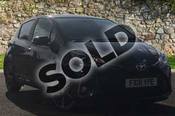 Toyota Yaris 1.5 VVT-i Design 5dr in Black at Listers Toyota Lincoln