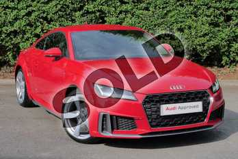 Audi TT 40 TFSI S Line 2dr S Tronic in Tango Red Metallic at Worcester Audi