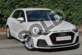 Audi A1 35 TFSI Sport 5dr in Shell White at Worcester Audi