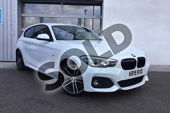 BMW 1 Series Special Edition 120i (2.0) M Sport Shadow Ed 3dr Step Auto in Alpine White at Listers King's Lynn (BMW)