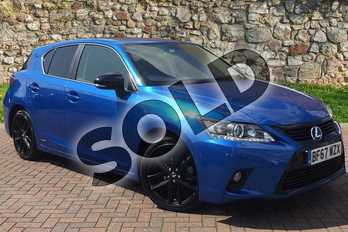 Lexus CT 200h 1.8 Sport 5dr CVT Auto in Sky Blue at Lexus Coventry