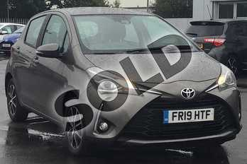 Toyota Yaris 1.5 VVT-i Icon Tech 5dr in Brown at Listers Toyota Lincoln