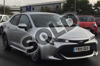 Toyota Corolla 2.0 VVT-i Hybrid Design 5dr CVT in Sterling Silver at Listers Toyota Lincoln