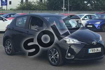 Toyota Yaris 1.5 VVT-i Icon Tech 5dr in Black at Listers Toyota Lincoln