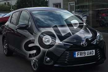 Toyota Yaris 1.5 VVT-i Y20 5dr in Black at Listers Toyota Lincoln