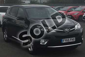 Toyota RAV4 Diesel 2.0 D-4D Business Edition 5dr 2WD in Black at Listers Toyota Lincoln