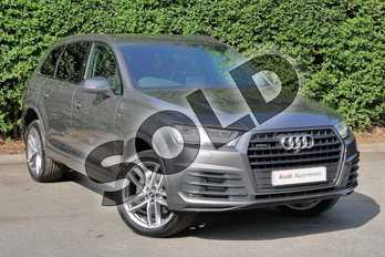 Audi Q7 50 TDI Quattro S Line 5dr Tiptronic in Samurai Grey Metallic at Worcester Audi