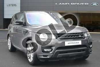 Range Rover Sport Diesel 3.0 SDV6 (306) Autobiography Dynamic 5dr Auto in Waitomo Grey at Listers Land Rover Hereford