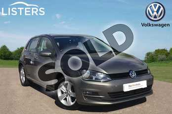Volkswagen Golf 1.4 TSI Match 5dr in Grey at Listers Volkswagen Loughborough