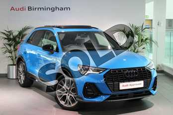 Audi Q3 35 TFSI Vorsprung 5dr S Tronic in Turbo Blue at Coventry Audi