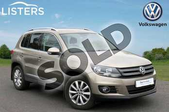 Volkswagen Tiguan 1.4 TSI BlueMotion Tech Match 5dr (2WD) in Titanium Beige at Listers Volkswagen Coventry