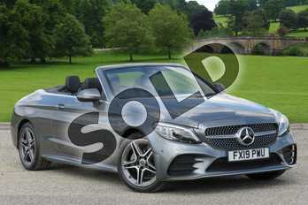 Mercedes-Benz C Class Diesel C220d AMG Line Premium 2dr 9G-Tronic in selenite grey metallic at Mercedes-Benz of Boston