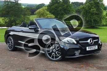 Mercedes-Benz C Class C180 AMG Line Premium 2dr 9G-Tronic in obsidian black metallic at Mercedes-Benz of Grimsby