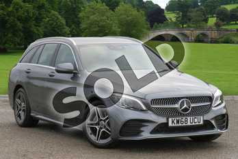 Mercedes-Benz C Class C200 AMG Line Premium 5dr 9G-Tronic in selenite grey metallic at Mercedes-Benz of Grimsby