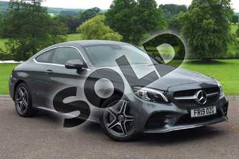 Mercedes-Benz C Class C300 AMG Line Premium 2dr 9G-Tronic in selenite grey metallic at Mercedes-Benz of Grimsby
