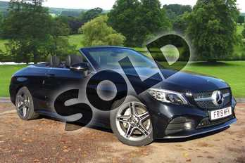 Mercedes-Benz C Class Diesel C220d AMG Line Premium 2dr 9G-Tronic in obsidian black metallic at Mercedes-Benz of Grimsby