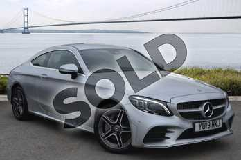Mercedes-Benz C Class C300 AMG Line Premium 2dr 9G-Tronic in iridium silver metallic at Mercedes-Benz of Hull