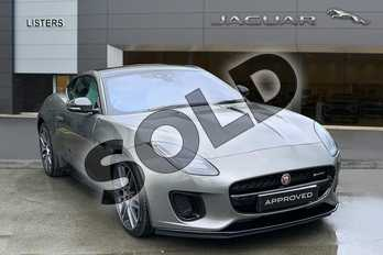 Jaguar F-TYPE 3.0 (380) Supercharged V6 R-Dynamic 2dr Auto in Silicon Silver at Listers Jaguar Solihull