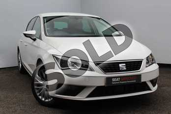 SEAT Leon 1.2 TSI SE Dynamic Technology 5dr in White at Listers SEAT Worcester