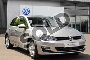 Volkswagen Golf Diesel 1.6 TDI 110 Match Edition 5dr in Silver at Listers Volkswagen Coventry
