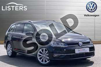Volkswagen Golf 1.5 TSI EVO 150 GT 5dr DSG in Deep black at Listers Volkswagen Coventry