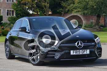 Mercedes-Benz A Class AMG A35 4Matic Premium Plus 5dr Auto in Cosmos Black Metallic at Mercedes-Benz of Lincoln