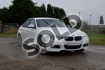 BMW 3 Series Diesel 320d M Sport 4dr in Alpine White at Listers Boston (BMW)
