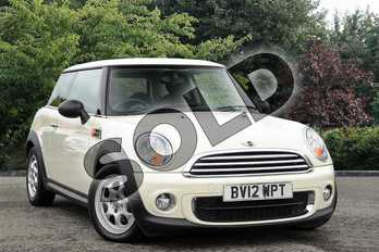 MINI Hatchback Diesel 1.6 One D 3dr in White at Listers Toyota Nuneaton