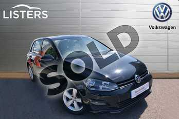 Volkswagen Golf Diesel 1.6 TDI 105 Match 5dr in Flat Black at Listers Volkswagen Worcester