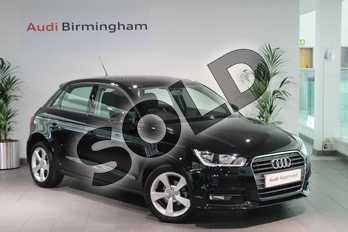 Audi A1 1.0 TFSI Sport 5dr in Brilliant Black at Birmingham Audi