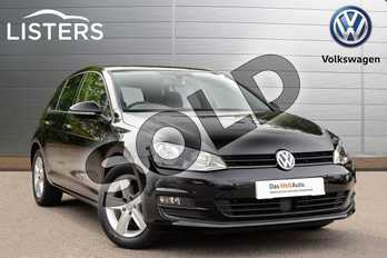 Volkswagen Golf 1.4 TSI Match 5dr in Deep black at Listers Volkswagen Coventry