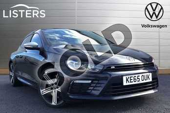 Volkswagen Scirocco 2.0 TSI 280 BlueMotion Tech R 3dr DSG in Deep black at Listers Volkswagen Leamington Spa